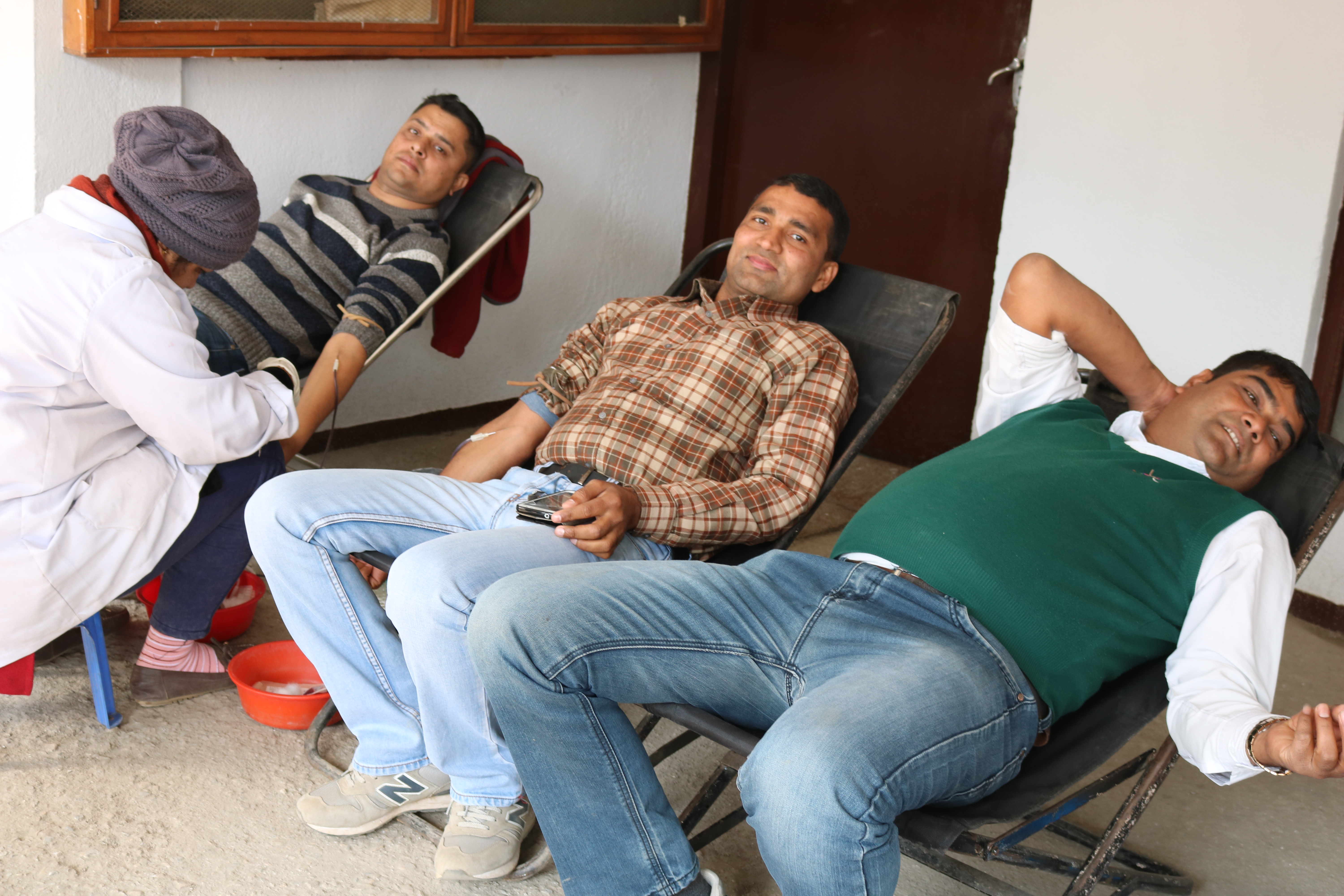 Active Participants in NEPSE Blood Donation Program